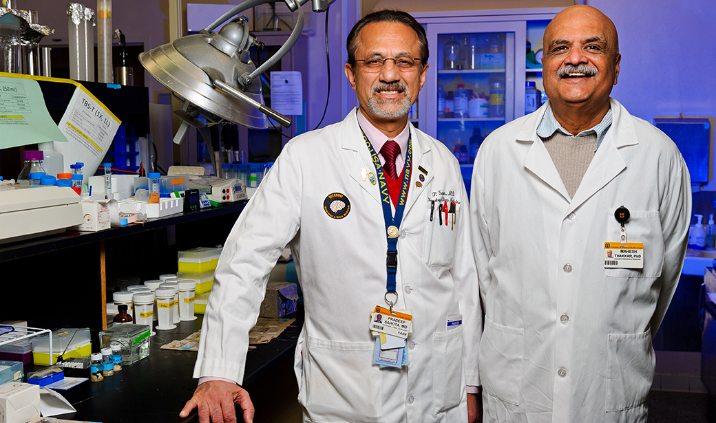 Pradeep K. Sahota, MD and Mahesh Thakkar, PhD