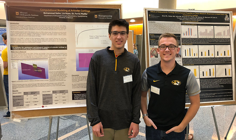 Thompson Lab Undergraduate Students Present at MU Extension Summit