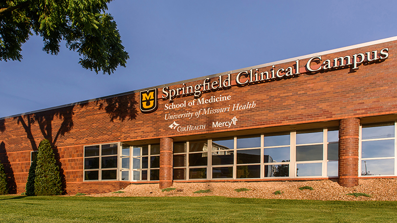 Springfield Clinical Campus building