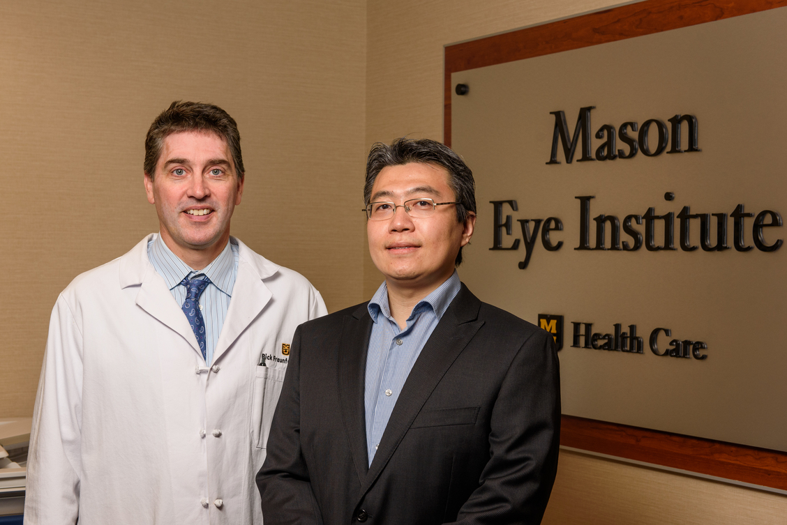 Xu Han, PhD  Department of Mechanical & Aerospace Engineering  Frederick Fraunfelder, MD, MBA  Department of Ophthalmology