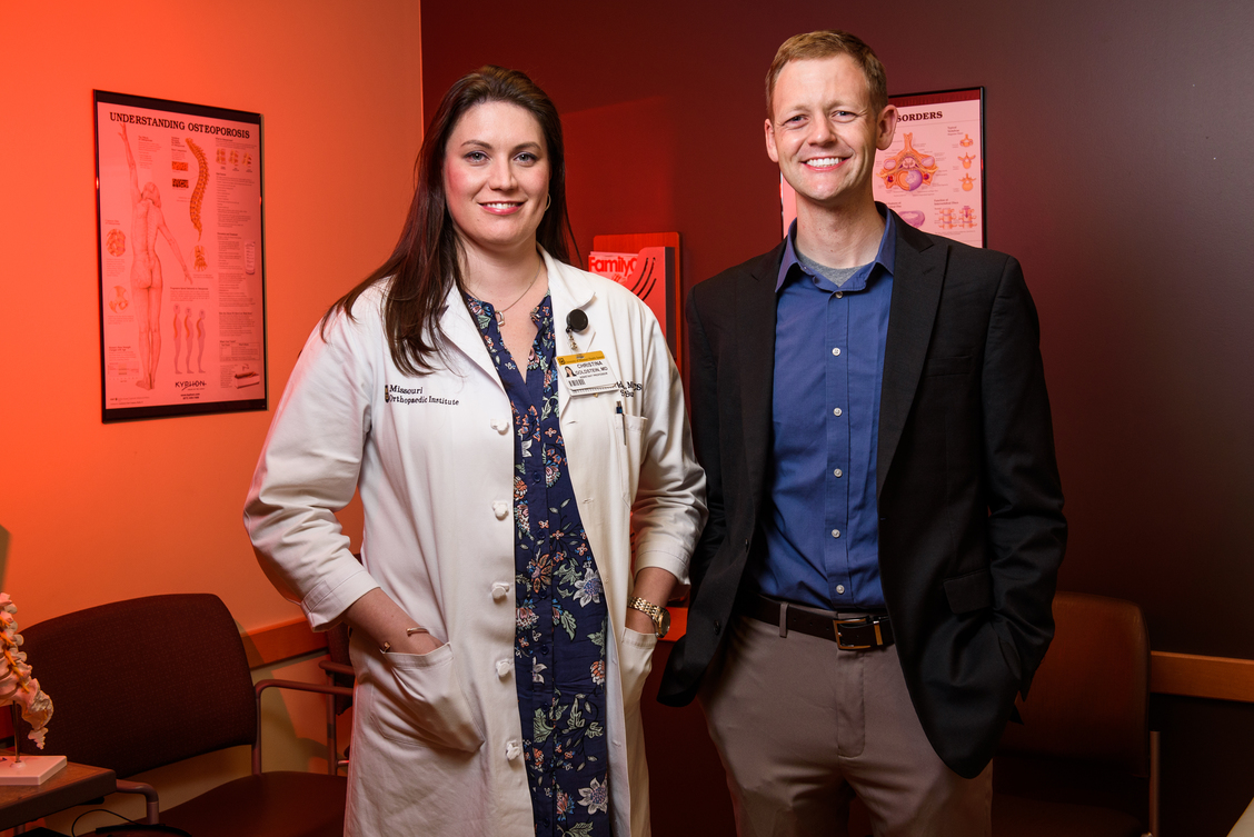 Bret Ulery, PhD  Department of Chemical Engineering  Christina Goldstein, MD  Department of Orthopaedic Surgery