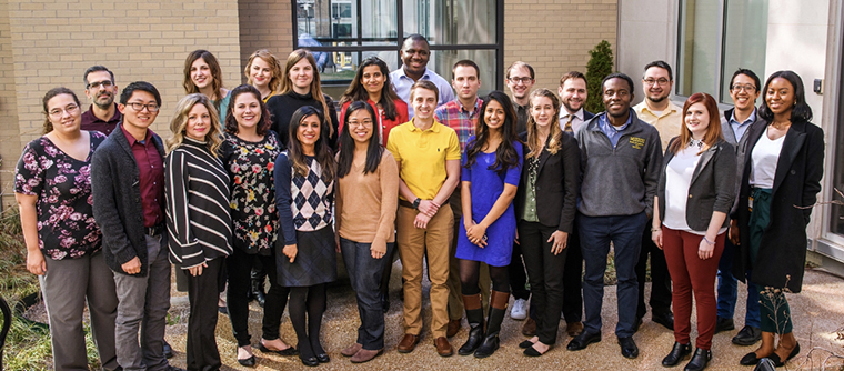 2020 Psychiatry Residents group photo