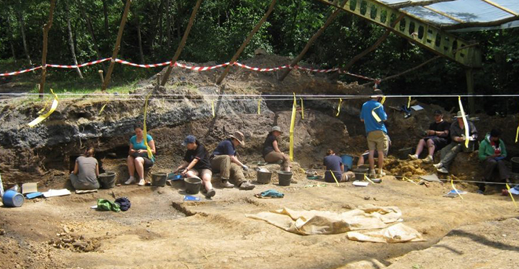 Excavation at the Rudabànya site