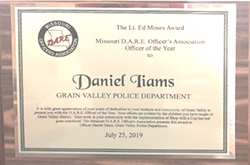 D.A.R.E. Association Officer of the Year Award