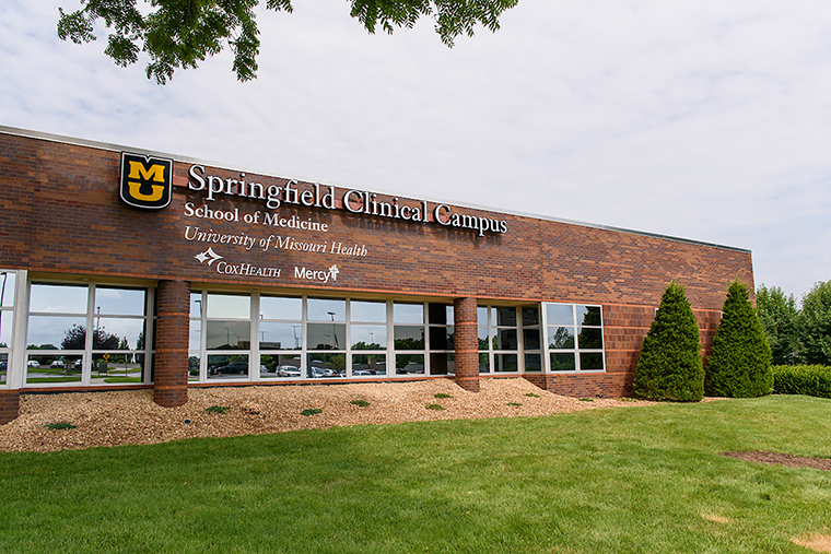 Photo of Springfield clinical campus