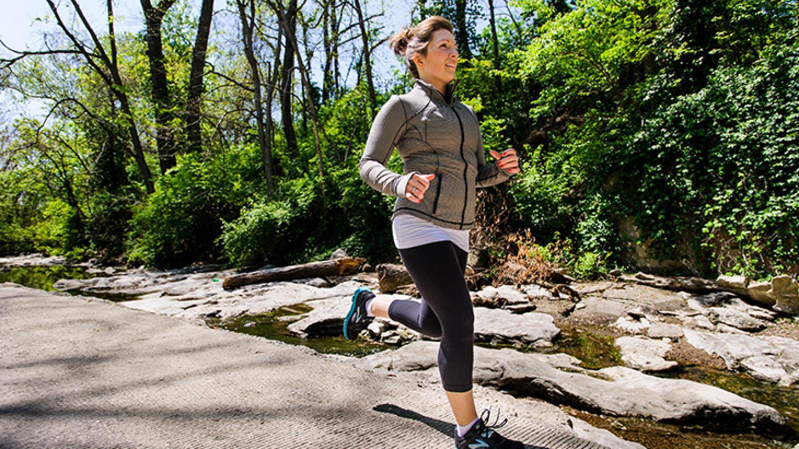 MKT Trail run