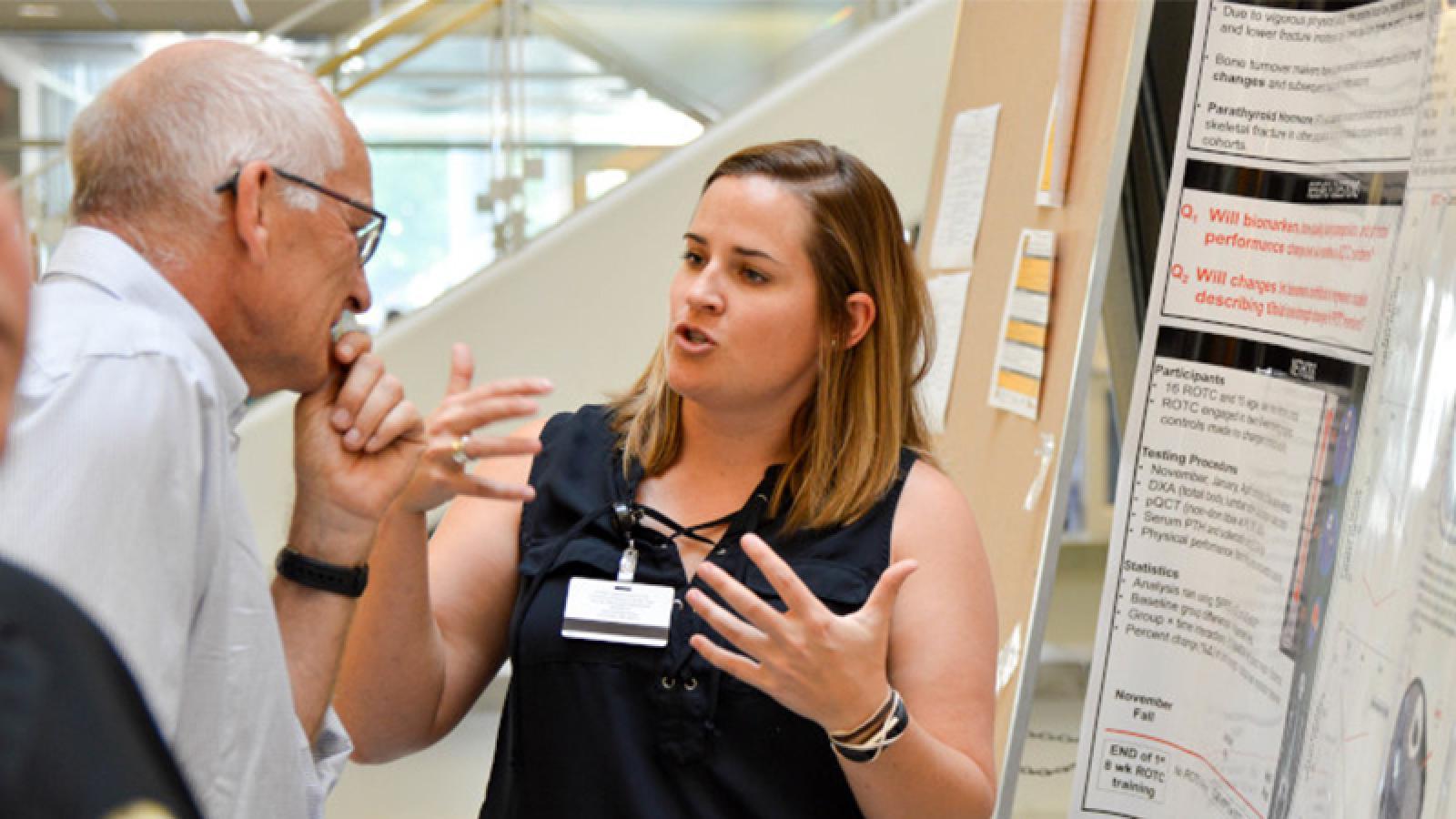 Bree Baker, a postdoctoral fellow on the Skeletal Morphology Team