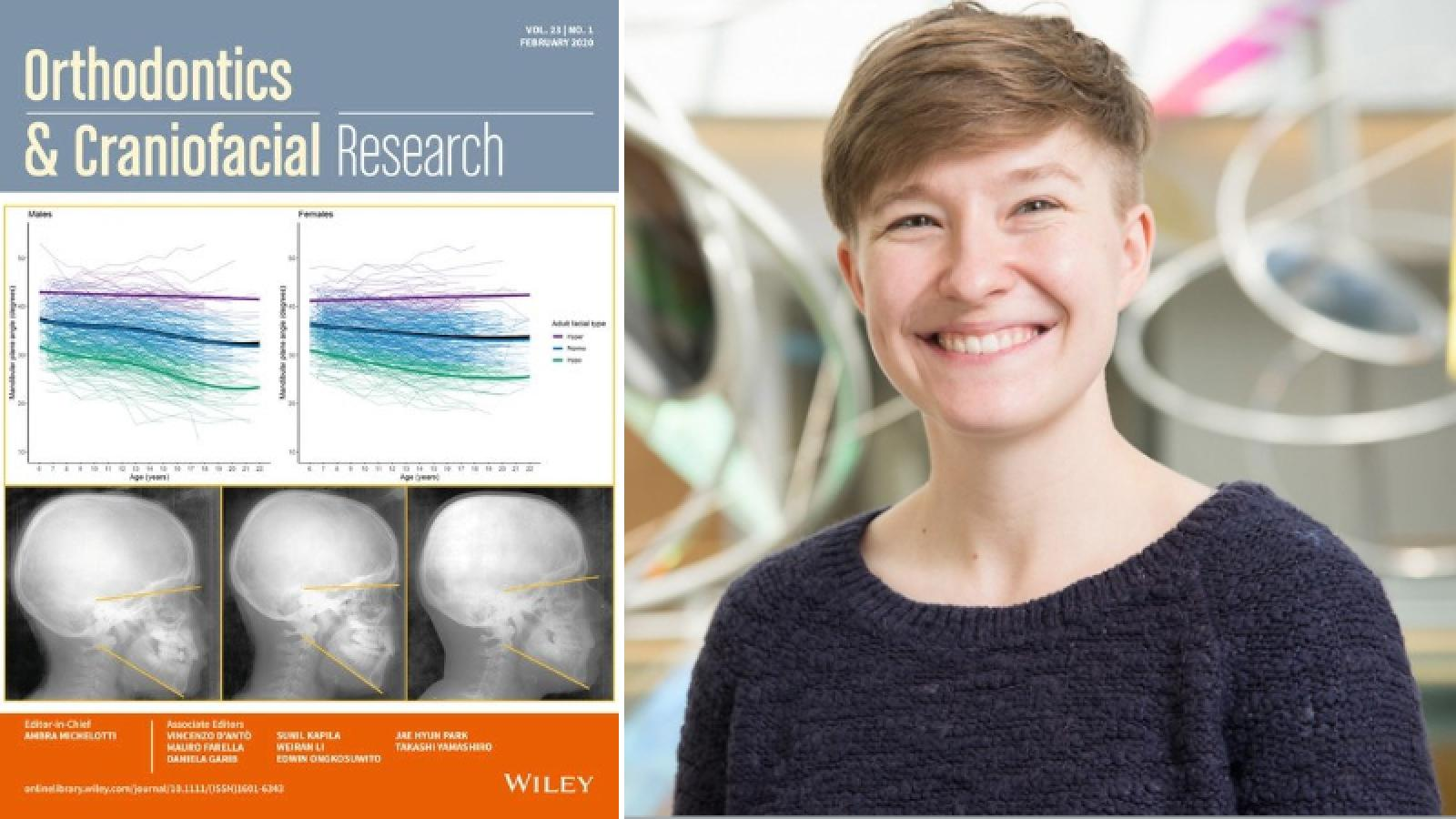 Dr. Anna Hardin, postdoctoral fellow in the Department of Pathology and Anatomical Sciences