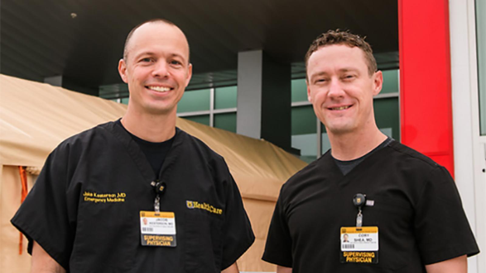 EM Dr. Kesterson and Dr. Shea