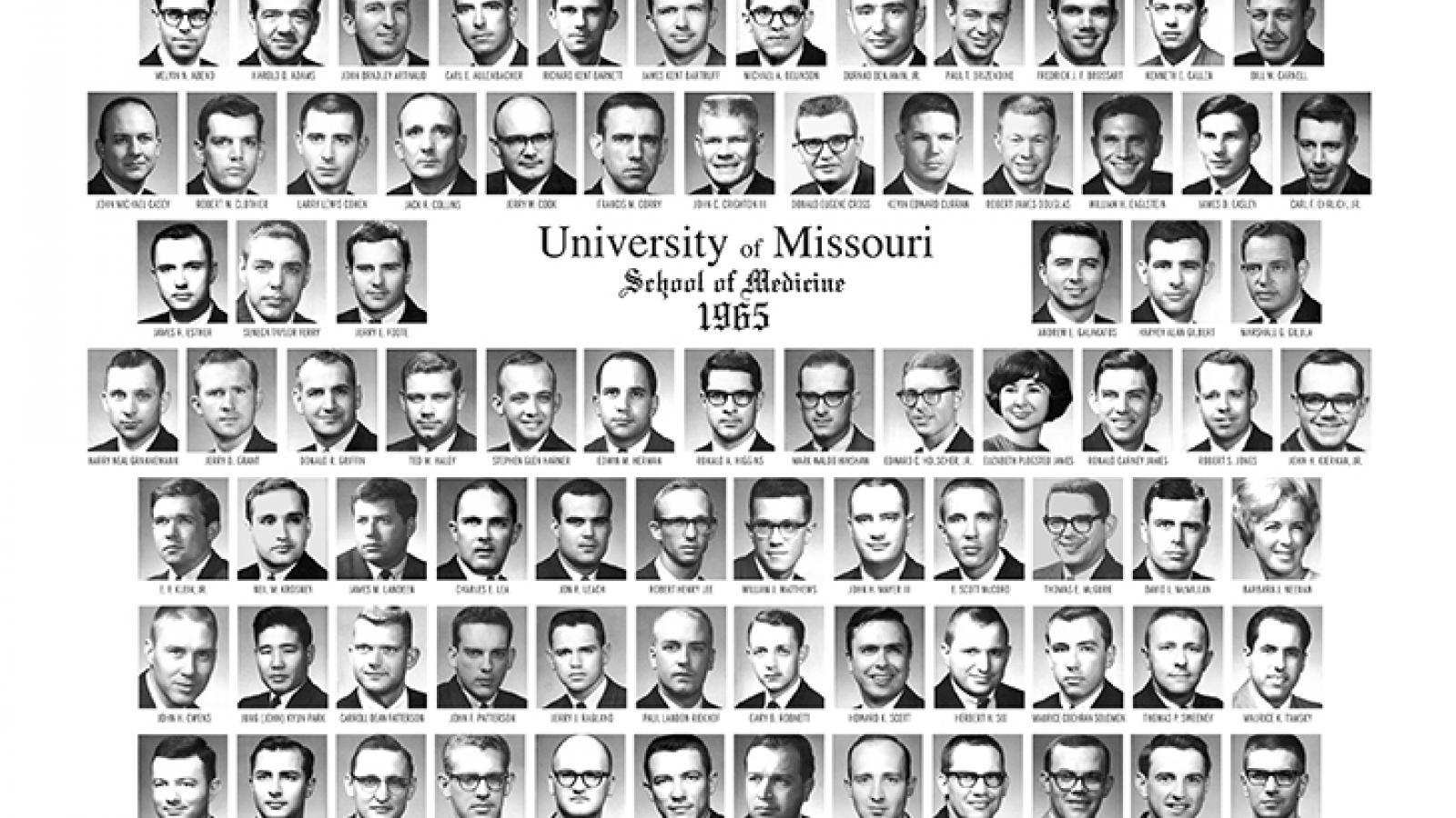 Class of 1965 composite