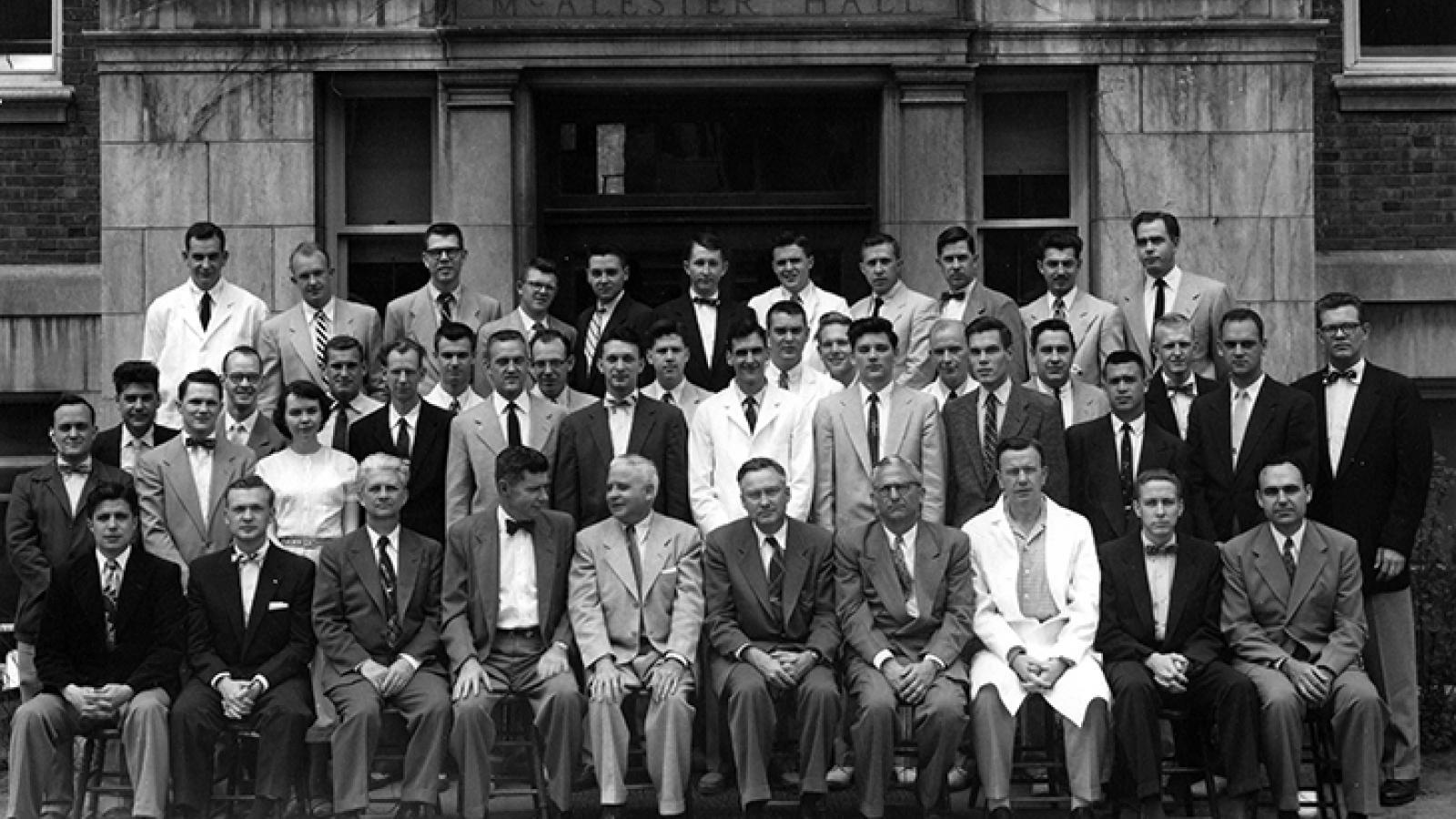 Class of 1955 portrait