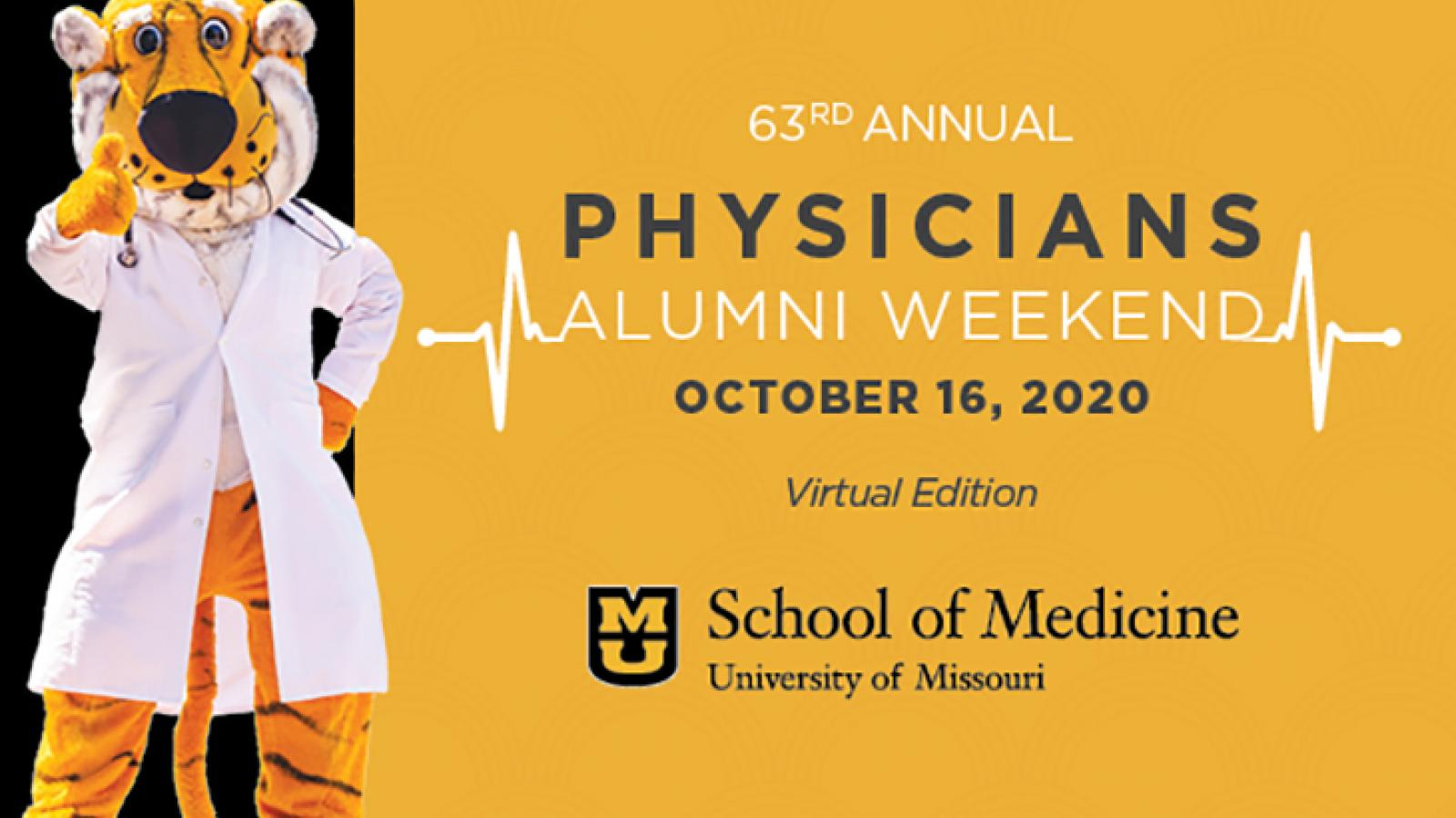 Physicians Alumni Weekend Invitation 2020 – Virtual Edition