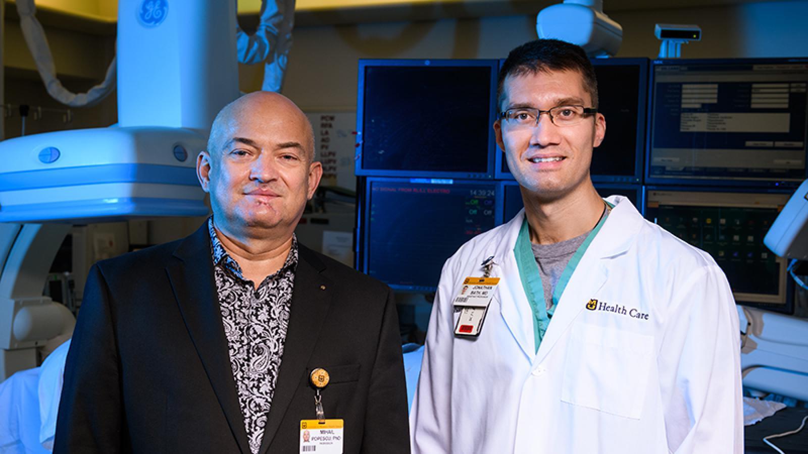 Jonathan Bath, MD and Mihail Popescu, PhD