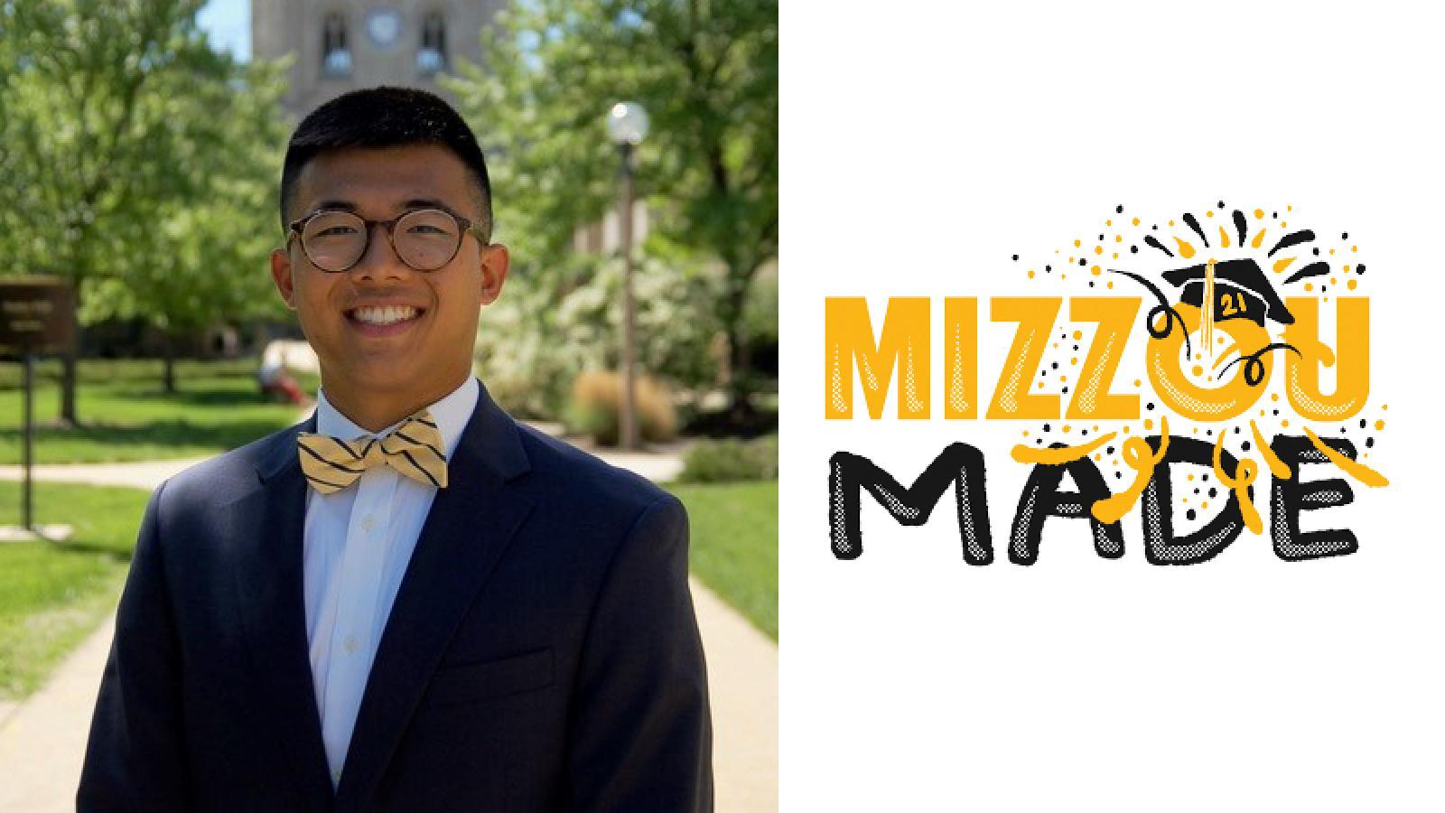 Matthew Gao, a senior undergraduate student in the TLRO