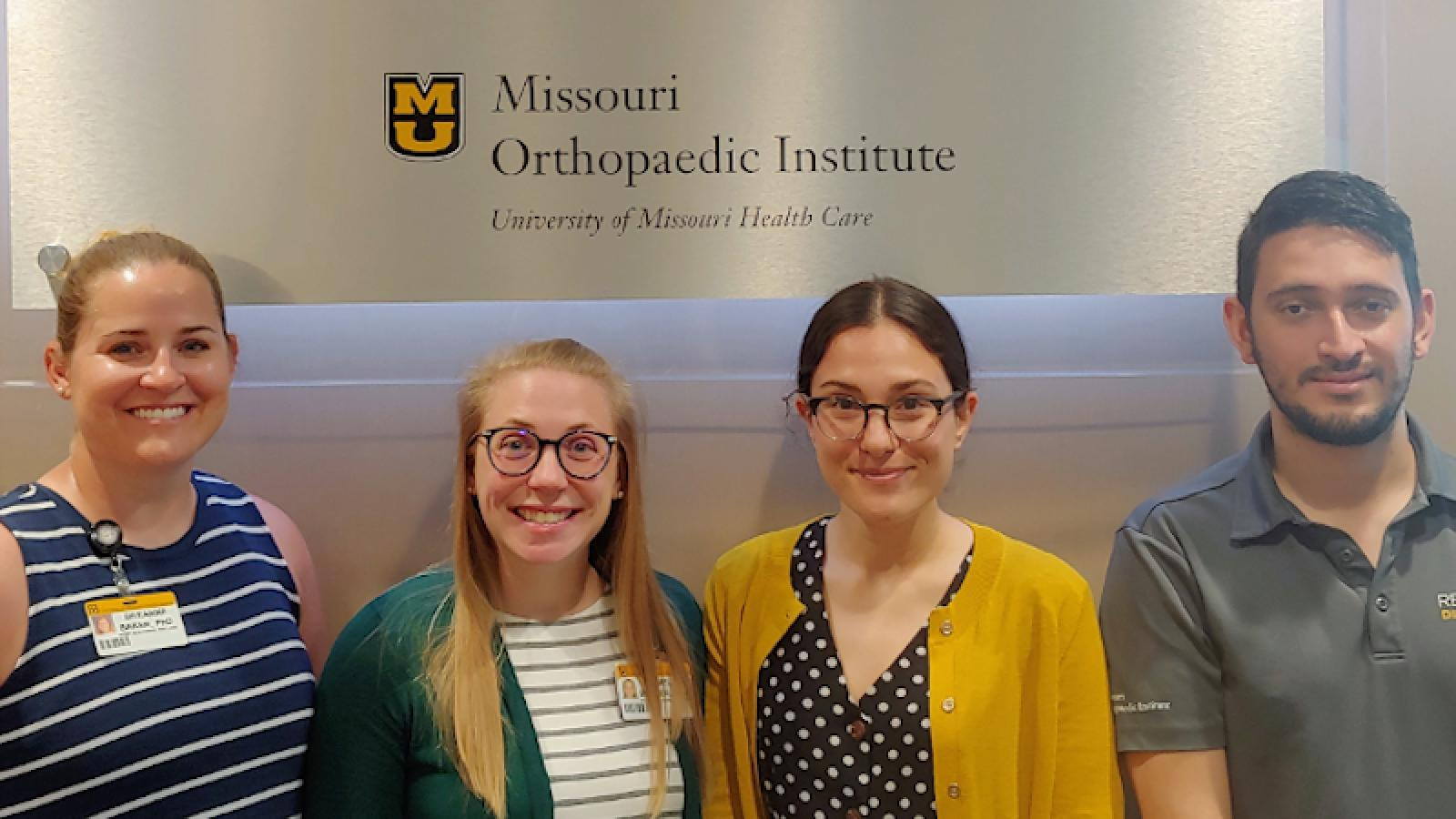 2021 Mizzou Musculoskeletal Research Symposium winners