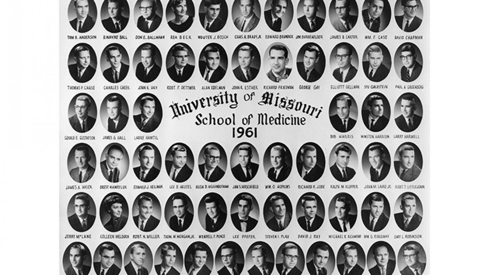 Class of 1961 composite