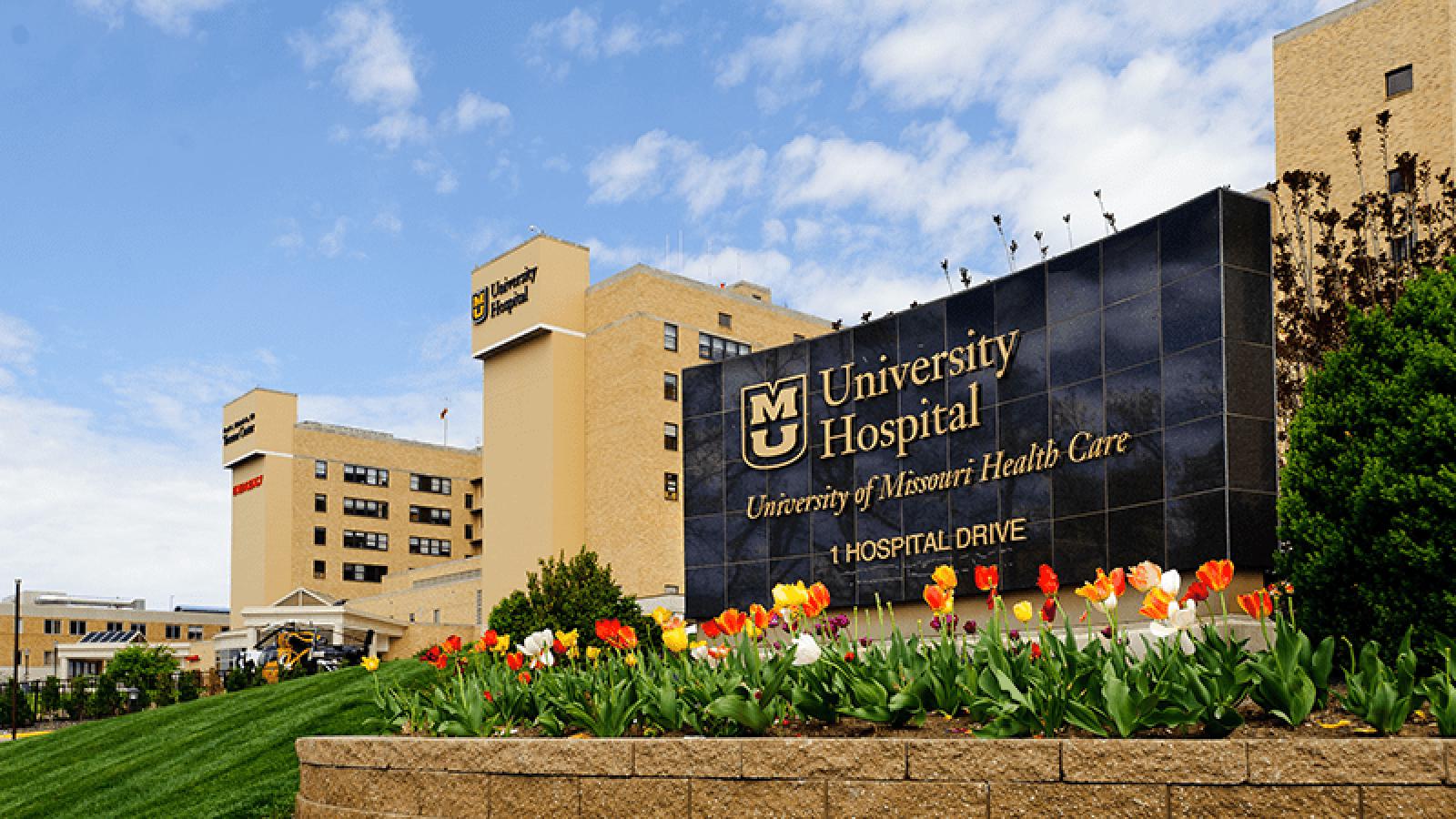 Photo of MU Health Care's University Hospital