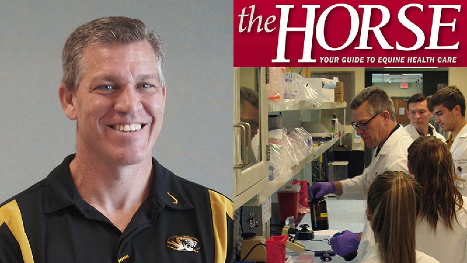 Research Led by Stoker Featured in Popular Equine Magazine