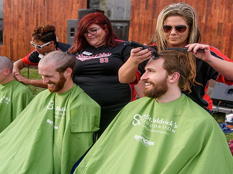 St. Baldrick's event raises money for childhood cancer research