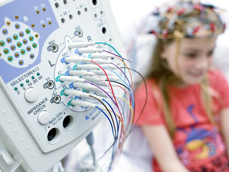 Pediatric sleep study