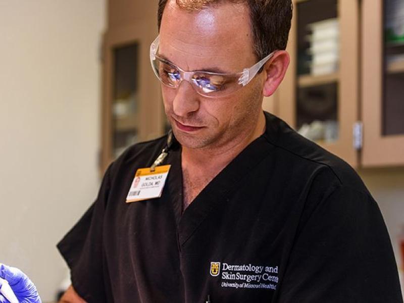 Dermatology Research - MU School of Medicine