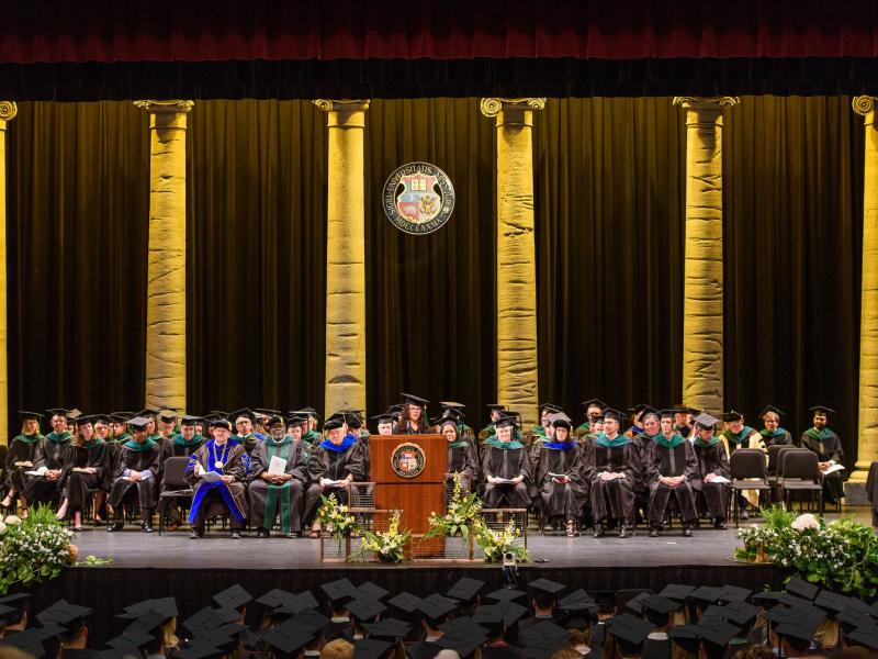 2018 School of Medicine Commencement photo