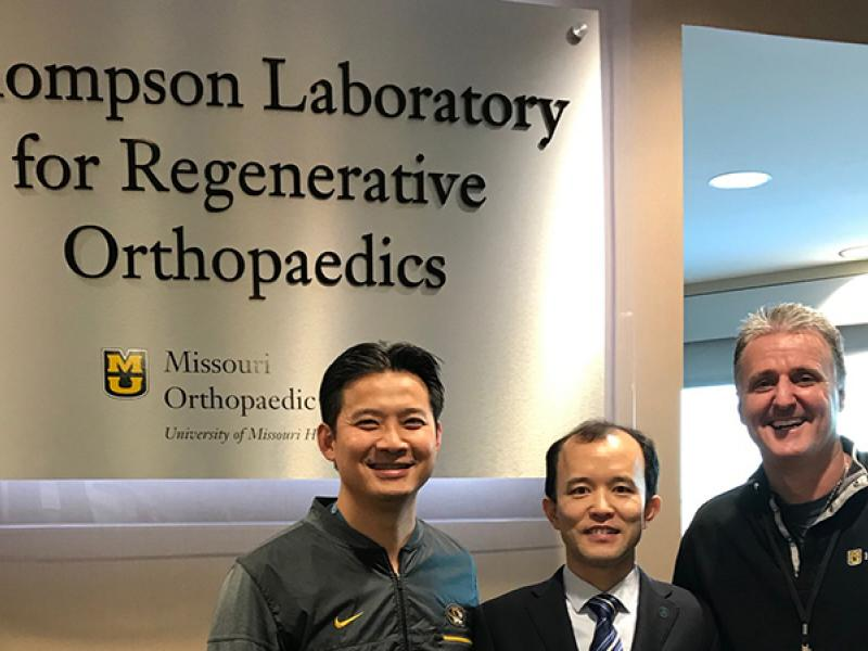 Dr. Richard Ma, Dr. Youdong Gan and Dr. Cook