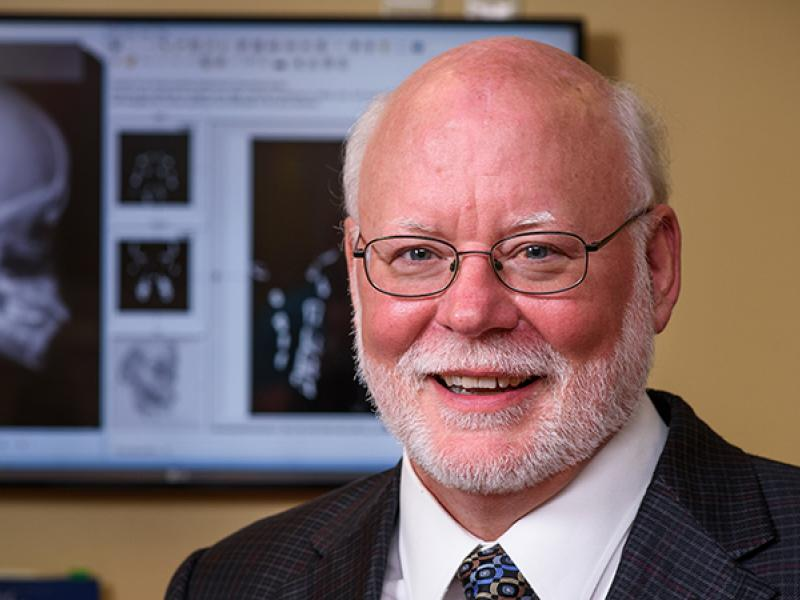 Richard Sherwood, PhD, professor and Vice Chair of Research of pathology and anatomical sciences
