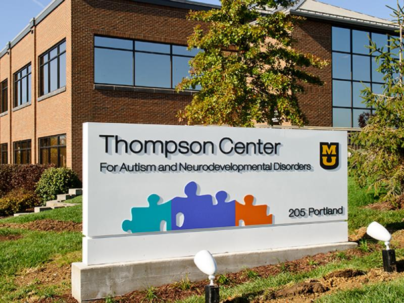 MU Thompson Center for Autism and Neurodevelopmental Disorders building