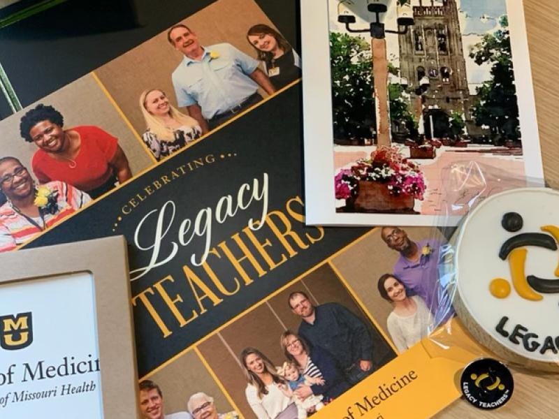 The Legacy Teachers™ program photo collage